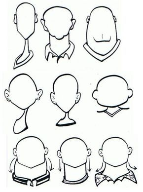 Drawn caricature characterture #1