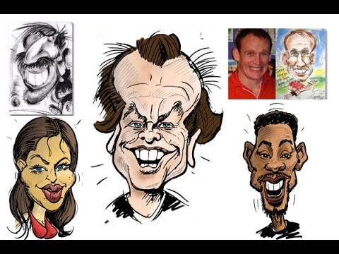 Drawn caricature characterture #10