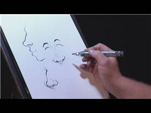 Drawn caricature characterture #9