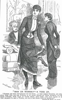 Drawn caricature fashion Drawing An Sambourne drawn Up'