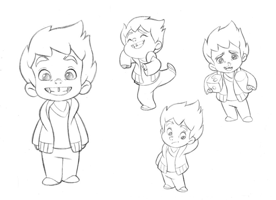 Drawn photos boy Test on Best Little character