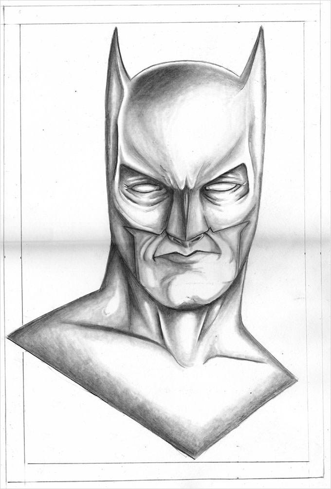 Drawn caricature pencil #11