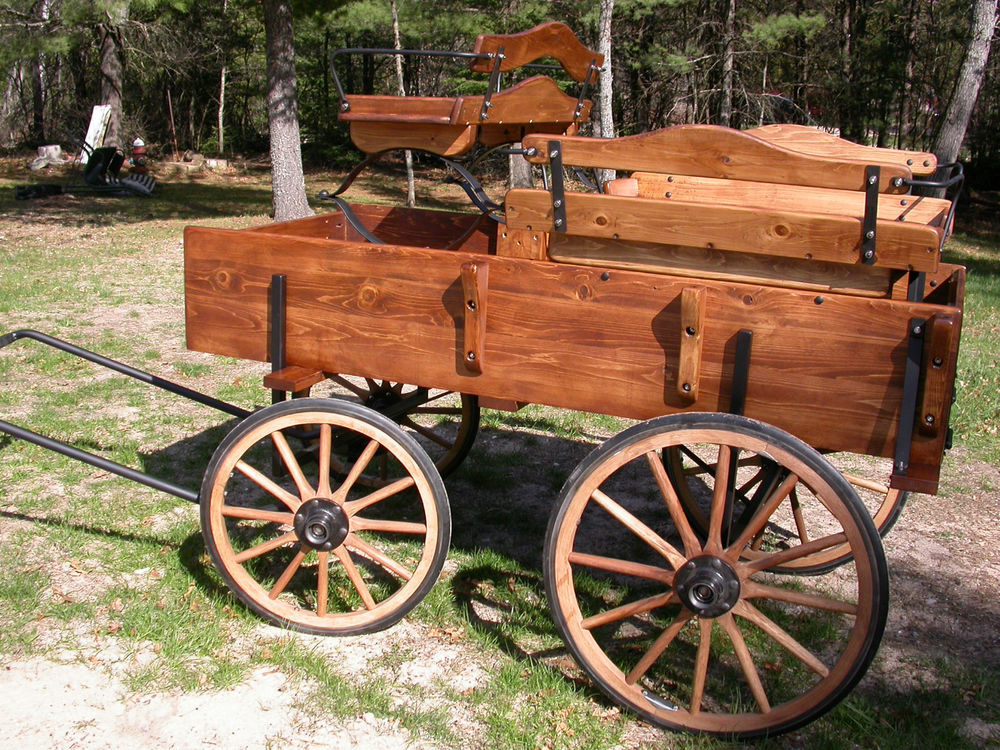 Drawn cart Wagon Kit Spring Pony