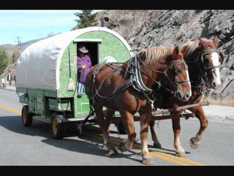 Drawn cart sheep Horse YouTube Wagon Drawn (all