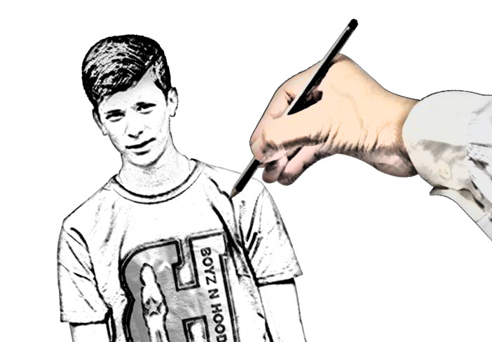 Drawn cartoon Martha's Hand Drawn Photoshop Drawn