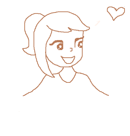 Drawn cartoon DeviantArt by Cartoon girl on