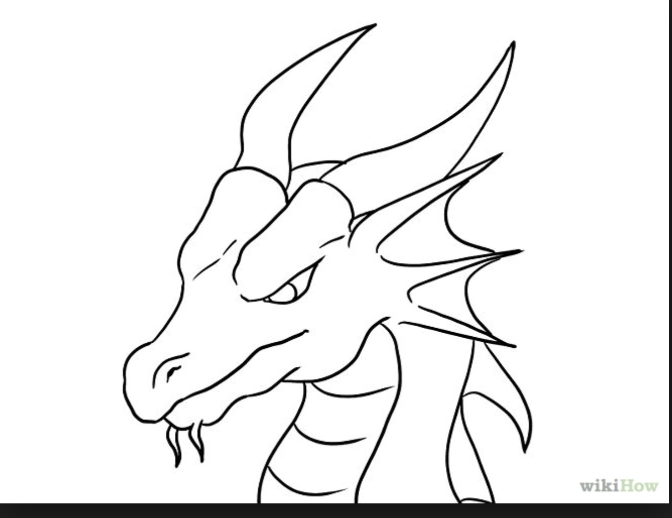 Drawn simple dragon Pinterest Easy  Pinterest Drawings