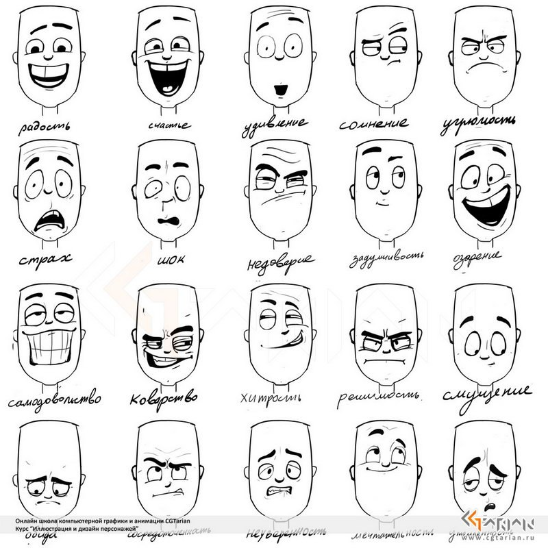 Drawn expression comic #2