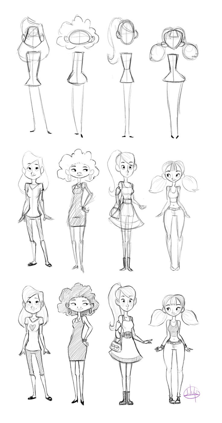 Drawn figurine character Character characters on link) by