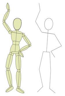 Drawn wars figure drawing Draw People 25+ draw to