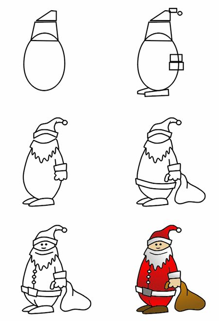 Drawn santa hat new year 20+ ideas to How to