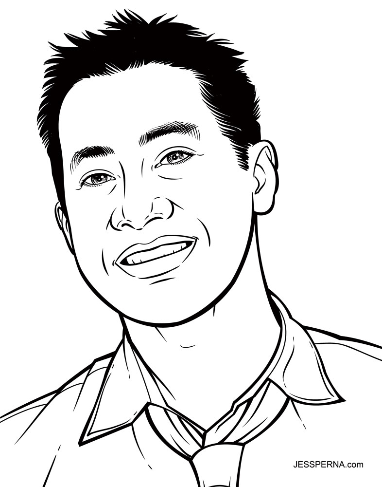 Drawn portrait cartoon Caricature to from Photo How