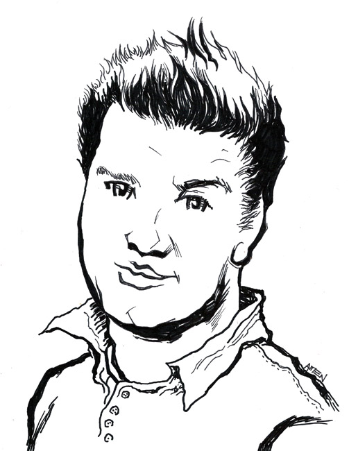 Drawn portrait cartoon Chase cool of your a
