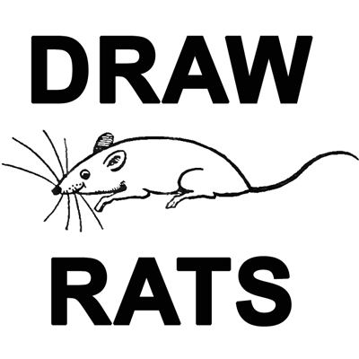Drawn rat dark  Draw How Simple Draw