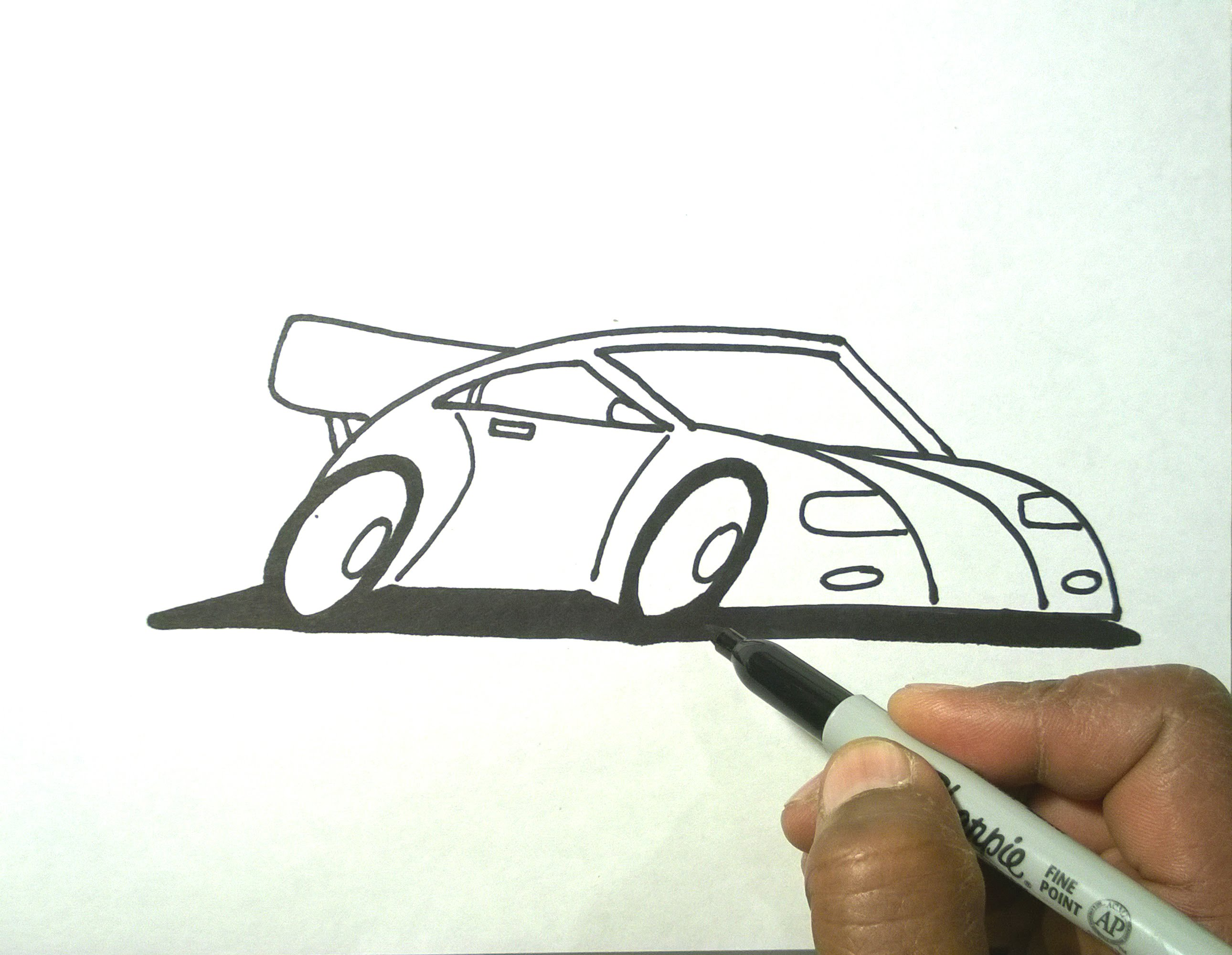 Drawn cartoon sharpie #9