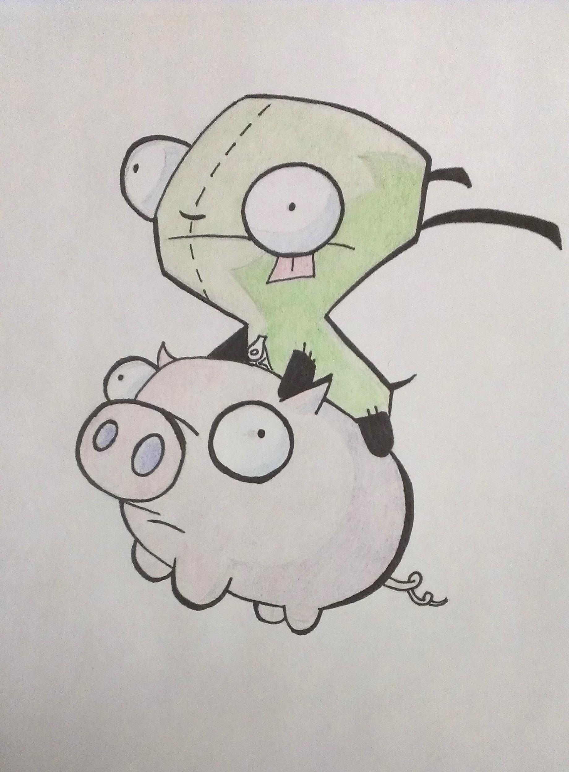 Drawn cartoon sharpie #14