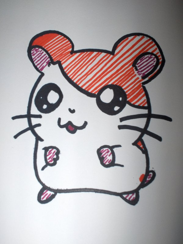 Drawn cartoon sharpie #11