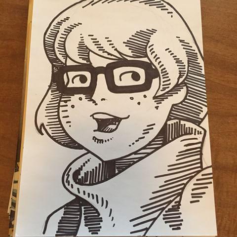 Drawn cartoon sharpie #6