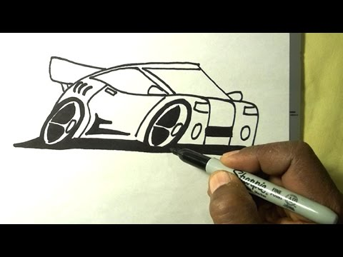 Drawn cartoon sharpie #15