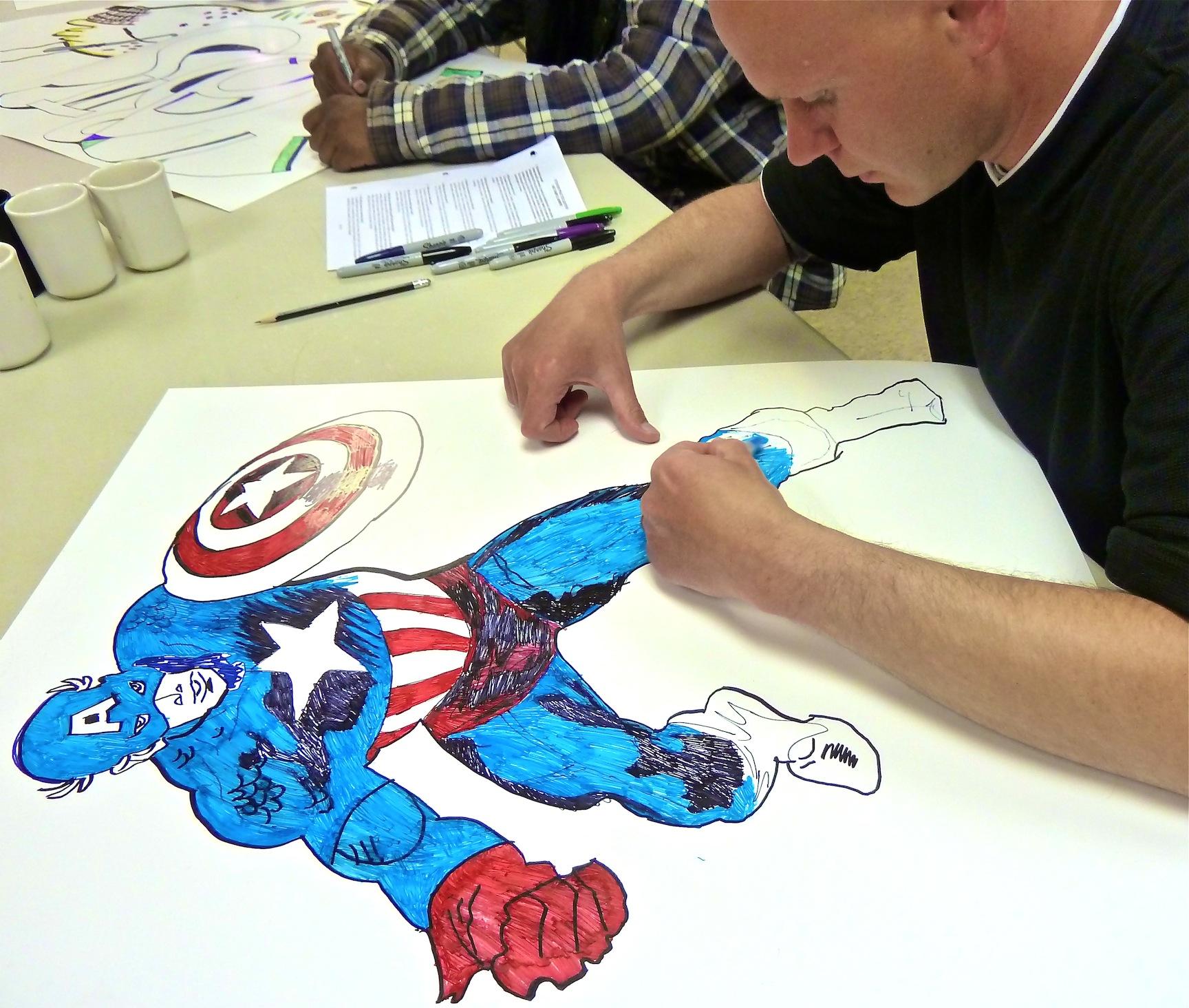 Drawn cartoon sharpie #13