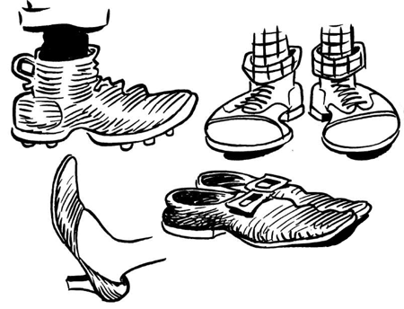 Drawn sneakers logo & Draw You to How
