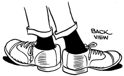 Drawn boots front view Drawing Cartoon Cartooning How &