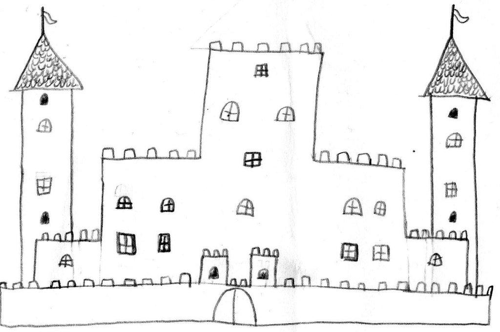 Drawn castle Castle Castle GhostOfTheEmptyGrave by by