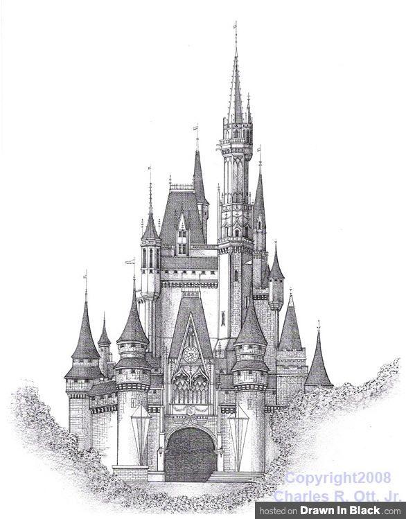 Drawn castle Result Castle Castle CastleArt ideas