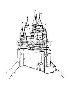 Drawn castle Stock Castle Castles castle image