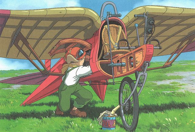 Drawn castle airplane #11