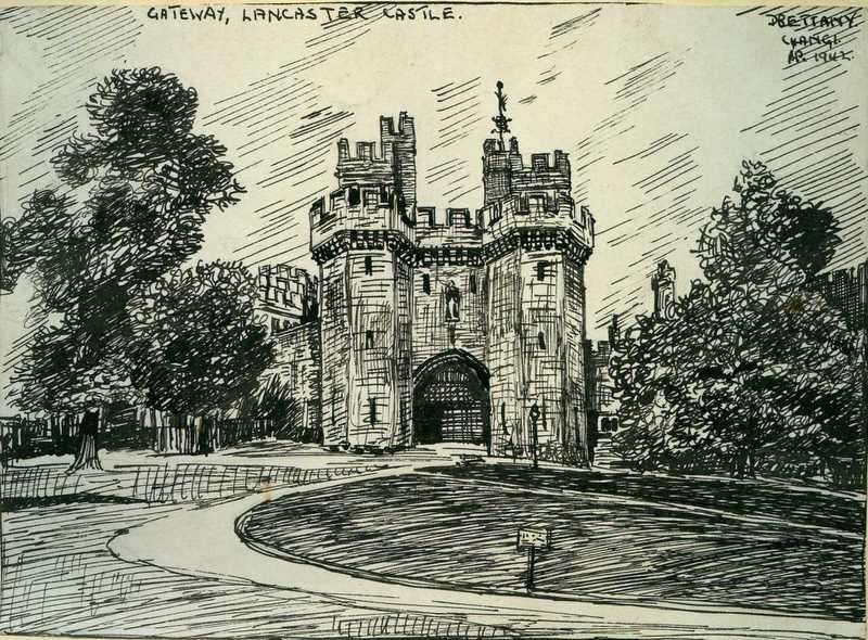Drawn castle castle gate  April Lancaster in Changi