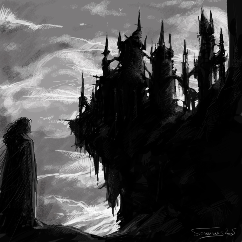 Drawn castle dracula's castle Castle dominuself dominuself by Dracula's