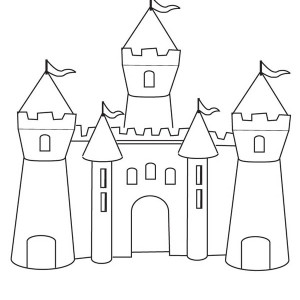 Drawn castle easy #11