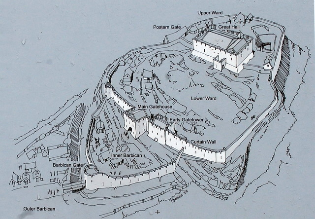 Drawn castle saxon Drawing Dunamase Dunamase Dunmase The