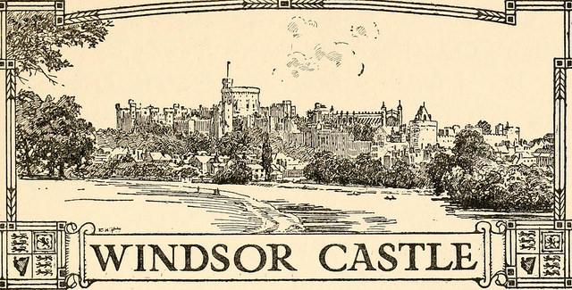 Drawn castle windsor castle #10