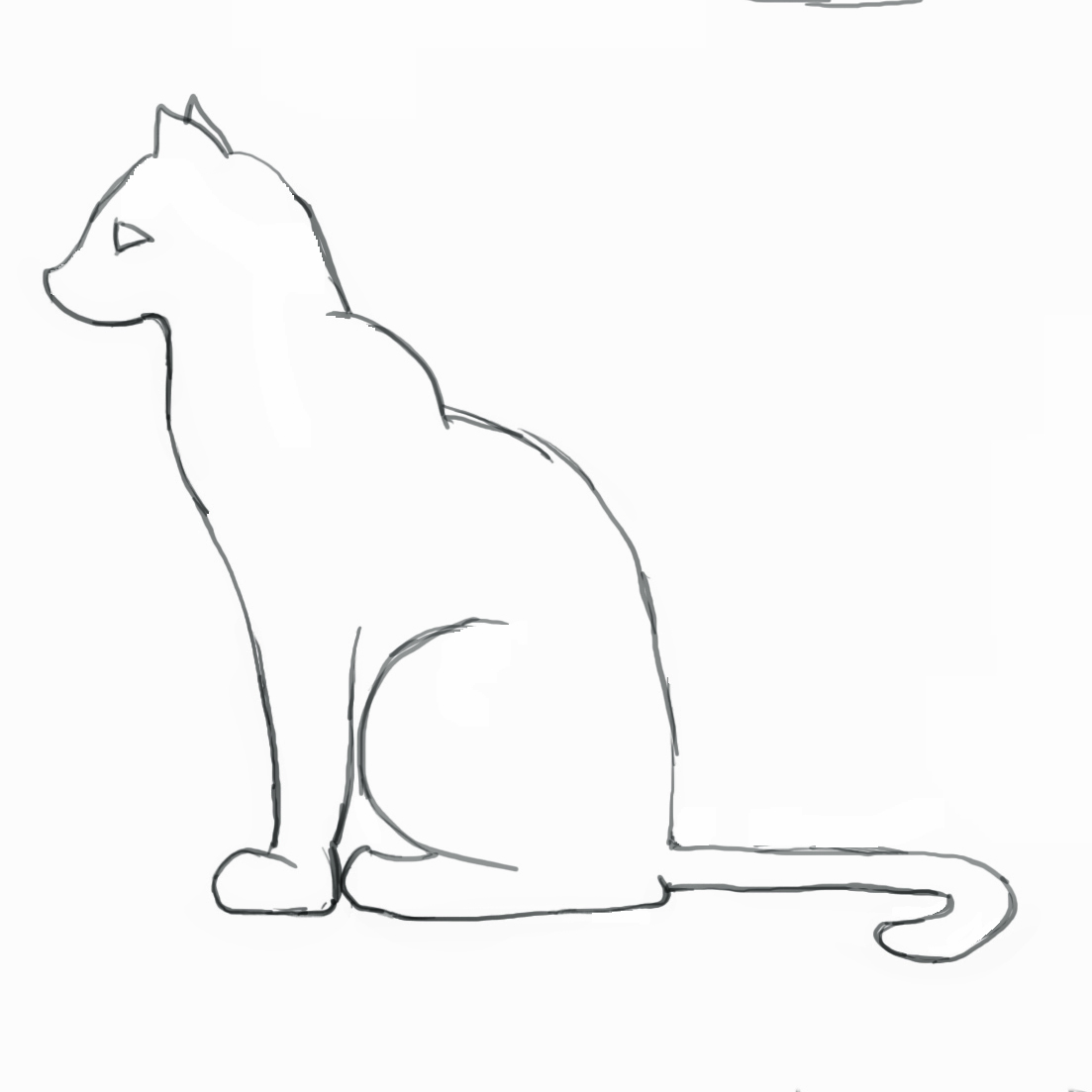 Drawn cat How Draw by Step Step