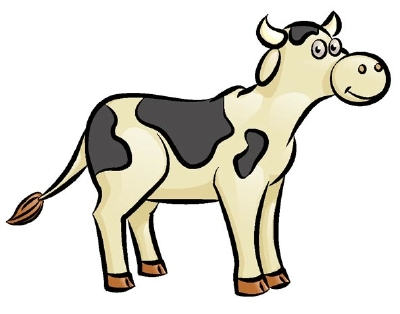 Drawn cattle Mammal using How Cow easy