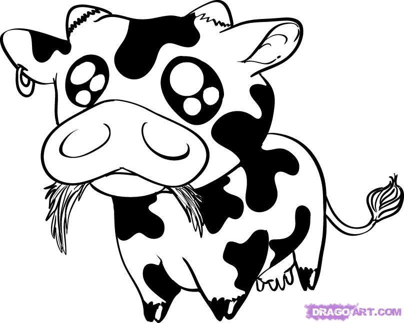 Drawn cattle Picture/of/animated/cow Animated Google  Search
