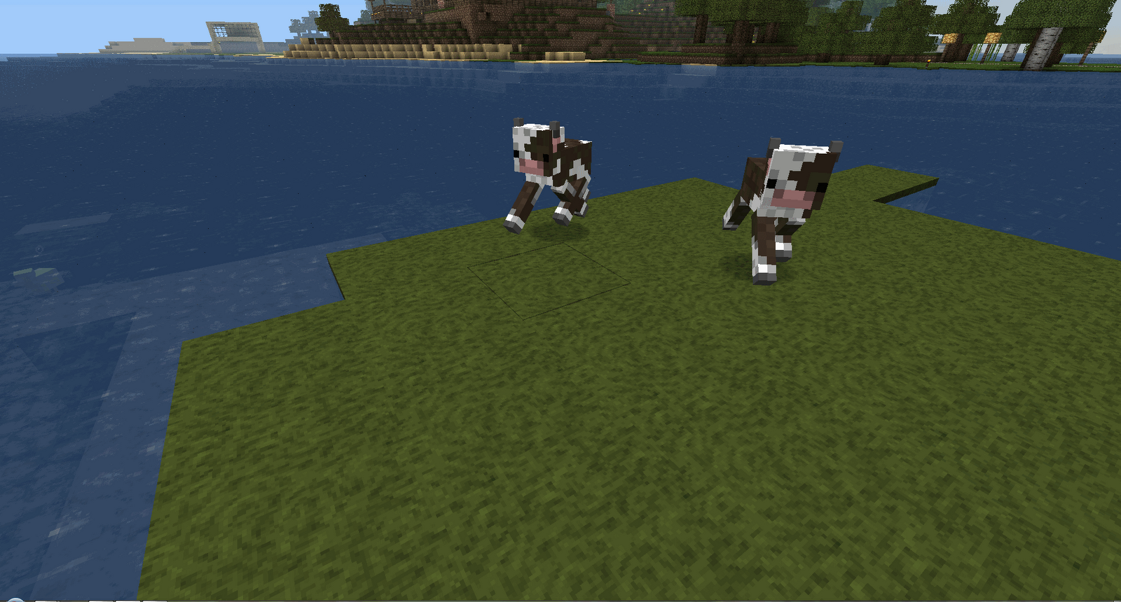 Drawn cattle minecraft cow #15