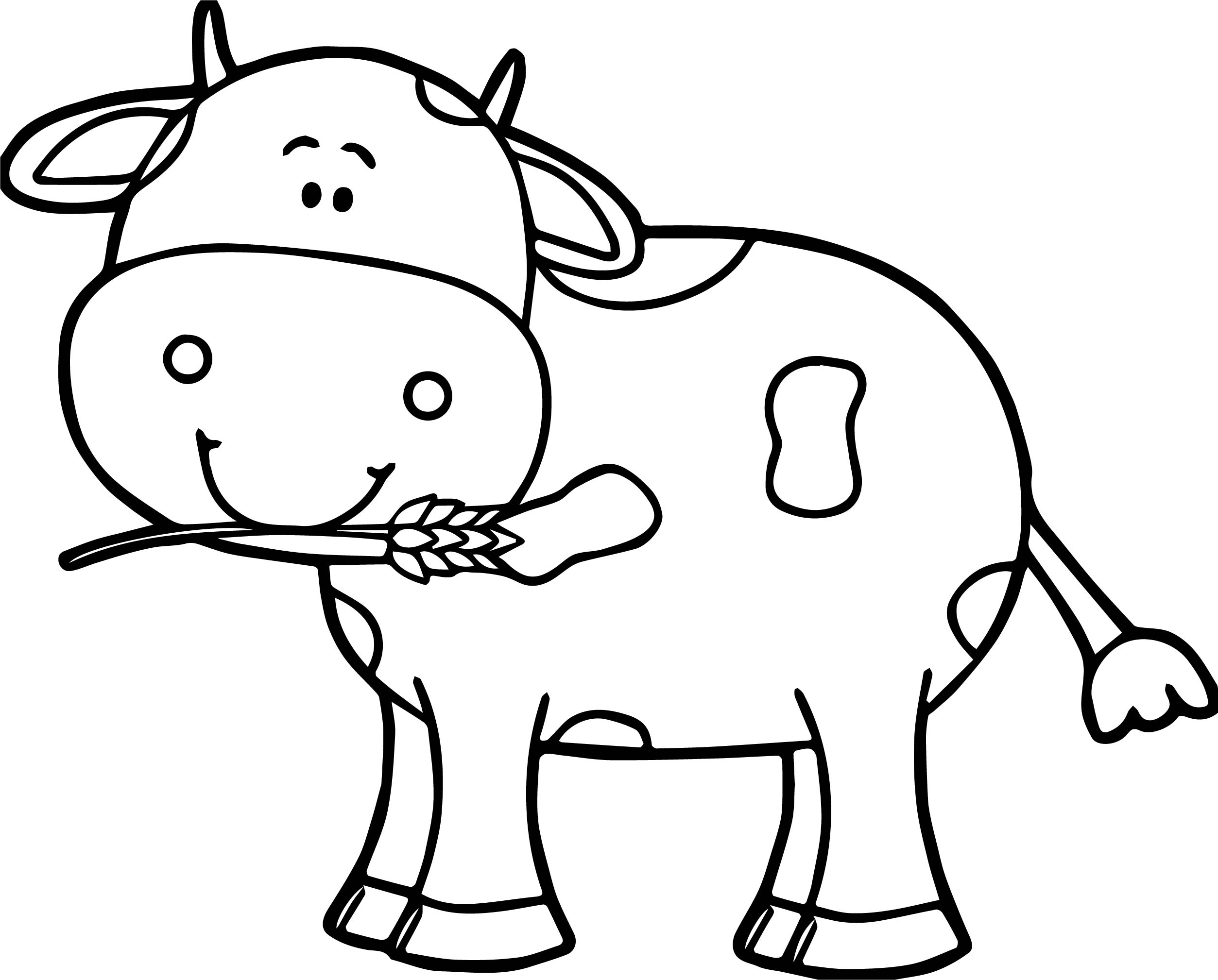 Drawn cattle small kid #9