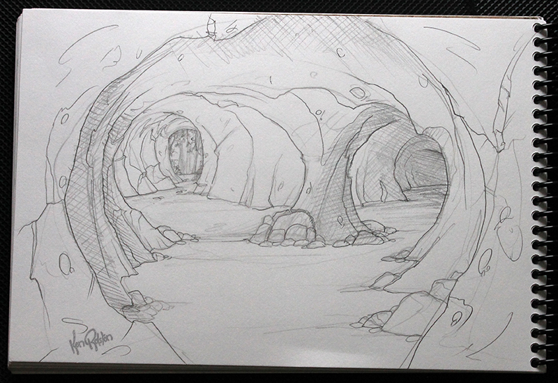 Drawn cave Somewhere dragon a I'm of