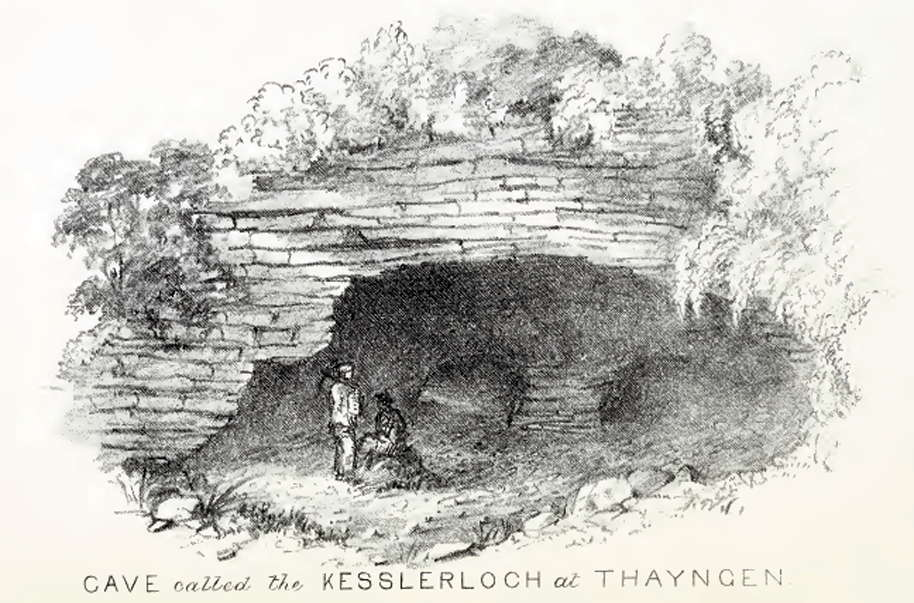 Drawn cavern To of the cave Drawing