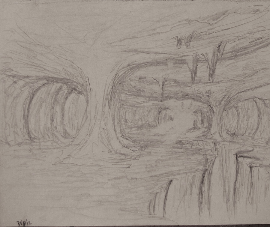 Drawn cavern The The Cavern by Sketch: