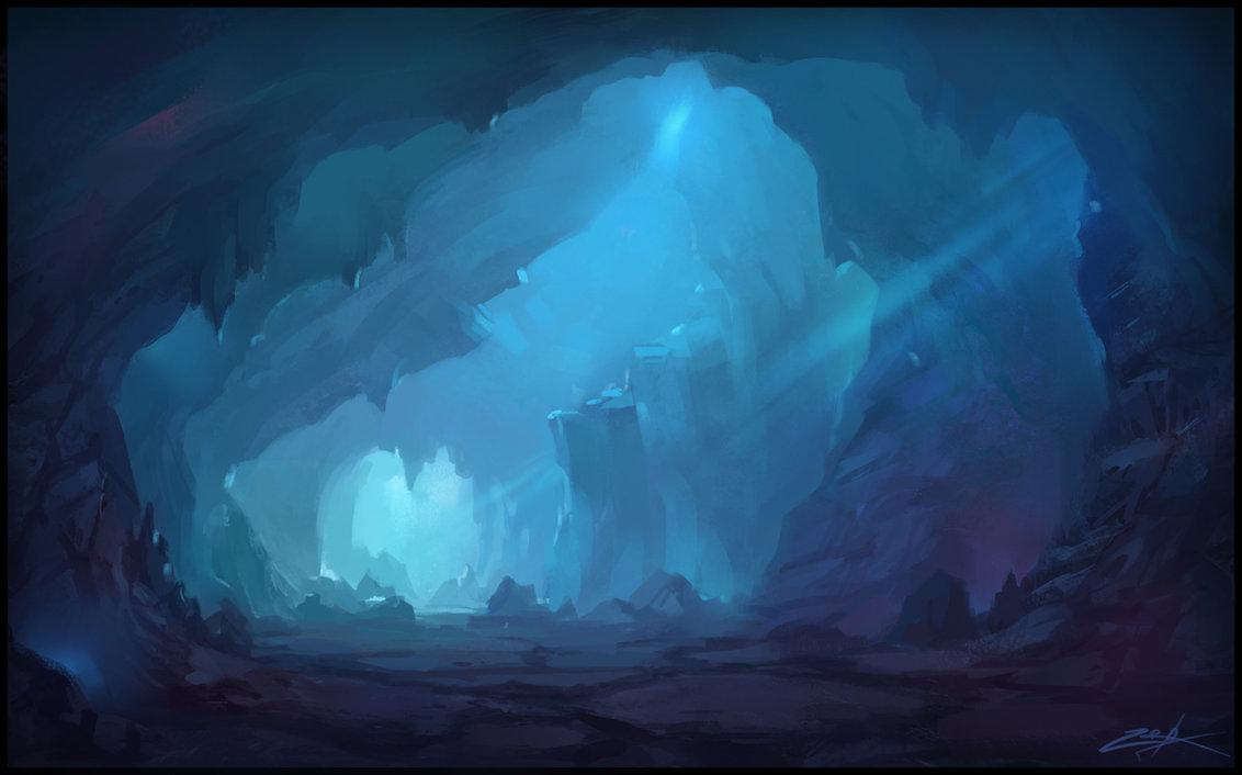 Drawn background cave Zoriy by Cave DeviantArt Zoriy
