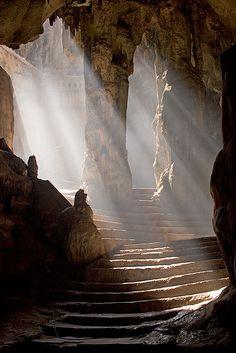 Drawn cavern breathtaking Phetchaburi cave John Hong