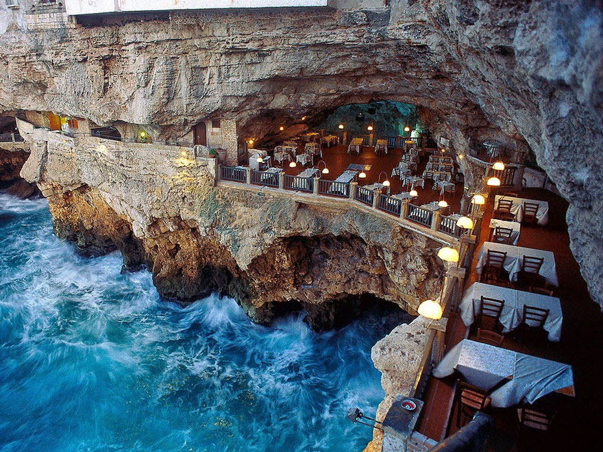 Drawn cavern breathtaking  palazzese restaurant You An