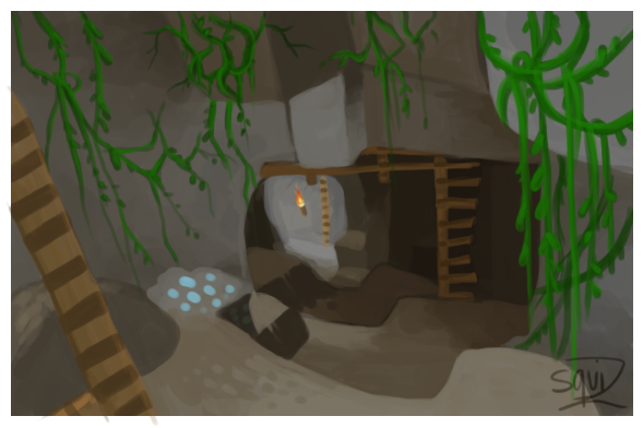 Drawn cavern minecraft Cave Simonetry Minecraft by Cave