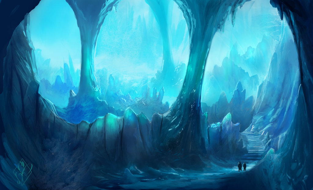 Drawn cavern pixel Road Ice jjpeabody by on