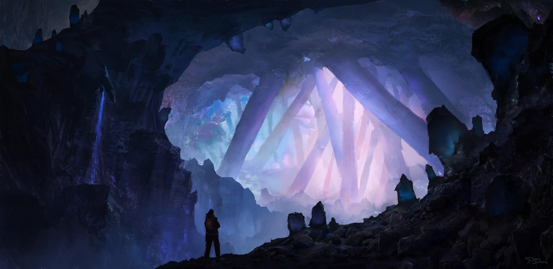 Drawn cavern pixel 2d is ArtStation the leading