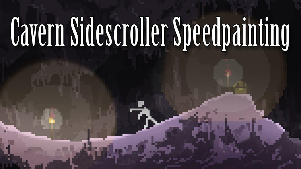Drawn cavern pixel Pixel Pixel Speedpaint Cavern Speedpaint